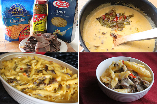How to make Roast Beef and Giardiniera Mac and Cheese