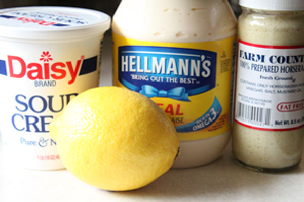 Horseradish Cream Sauce For Steaks Simple Comfort Food
