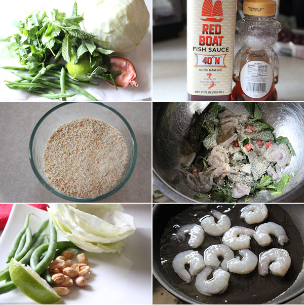 How to make shrimp larb