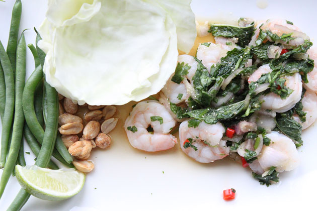 Shrimp Larb Recipe