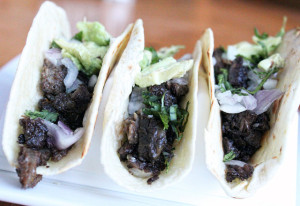 How to make Beef Cheek Tacos