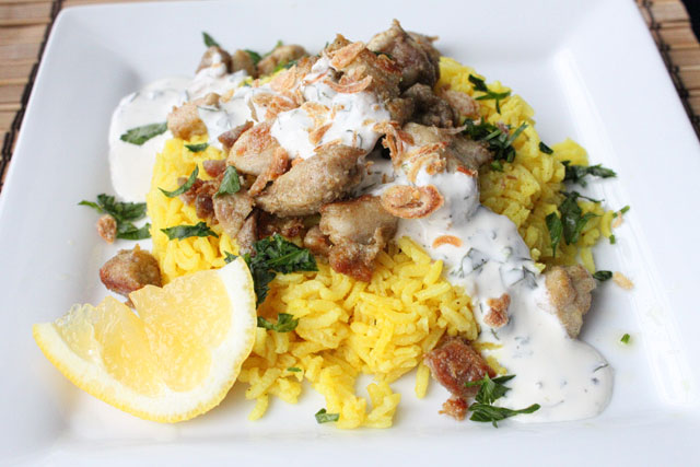 Middle Eastern Style Chicken and Rice