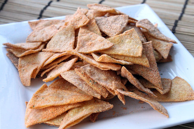 Homemade Spicy Ranch Doritos