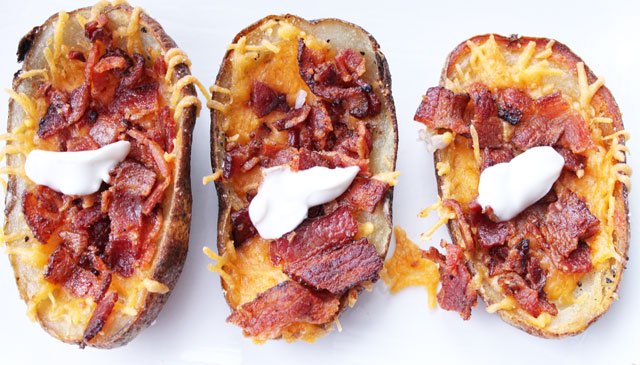 Loaded Potato Skins Recipe