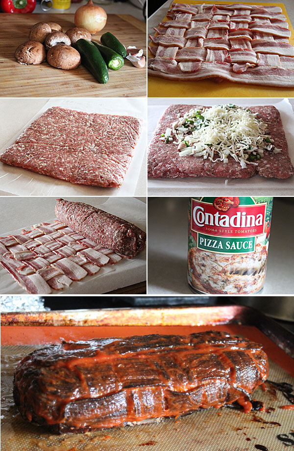 How to make a bacon wrapped fatty