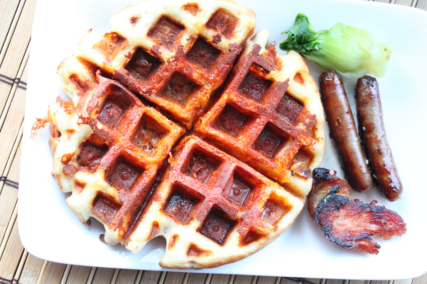 Crispy Ham and Cheese Waffles – Simple Comfort Food – Recipes that ...