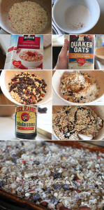 How to make instant oatmeal granola
