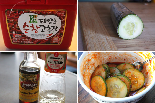 Korean Style Quick Pickles