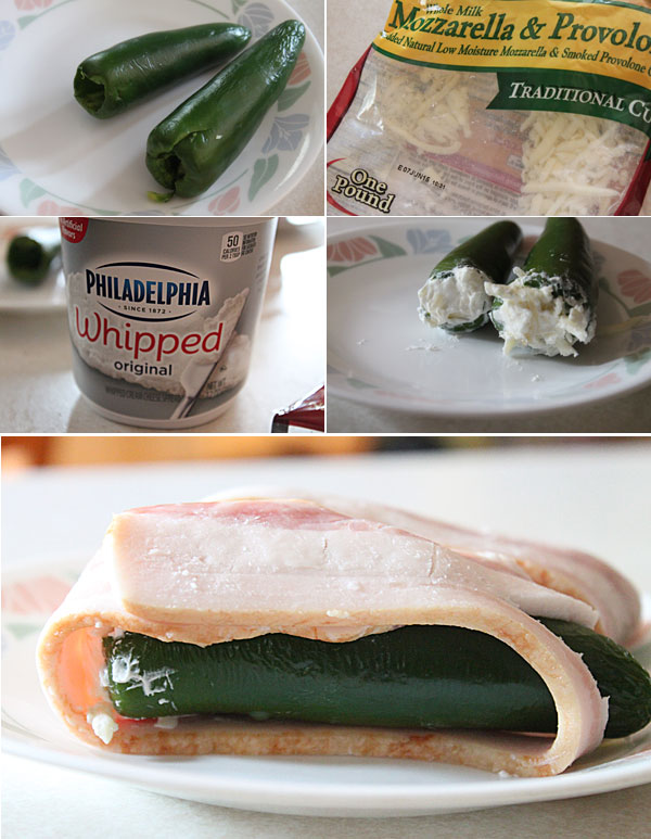 How to make smoked bacon wrapped jalapeno poppers