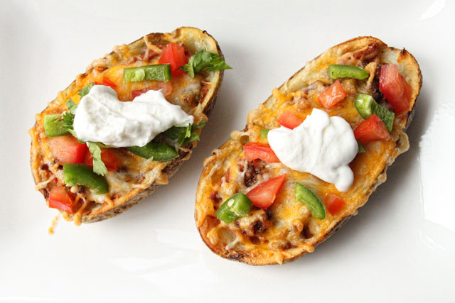 Tex-Mex Potato Skins Recipe