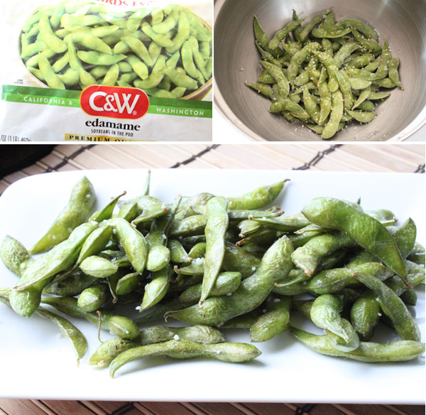 How to make roasted edamame