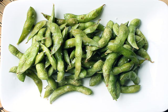 Whole Roasted Edamame Recipe