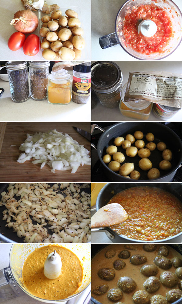 how to make kalonji aloo