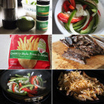 How to make loaded fajita french fries