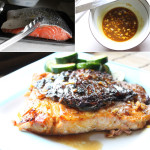How to make mustard glazed salmon