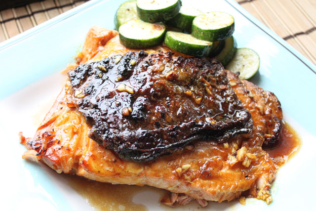 Mustard Glazed Salmon Recipe