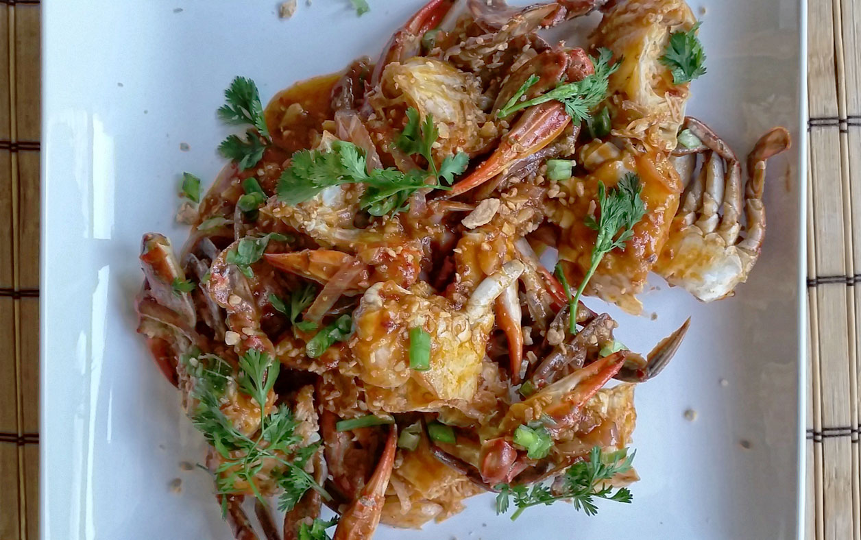 Chinese simple comfort food recipes that are simple and delicious chinese chilli blue crab recipe forumfinder Gallery
