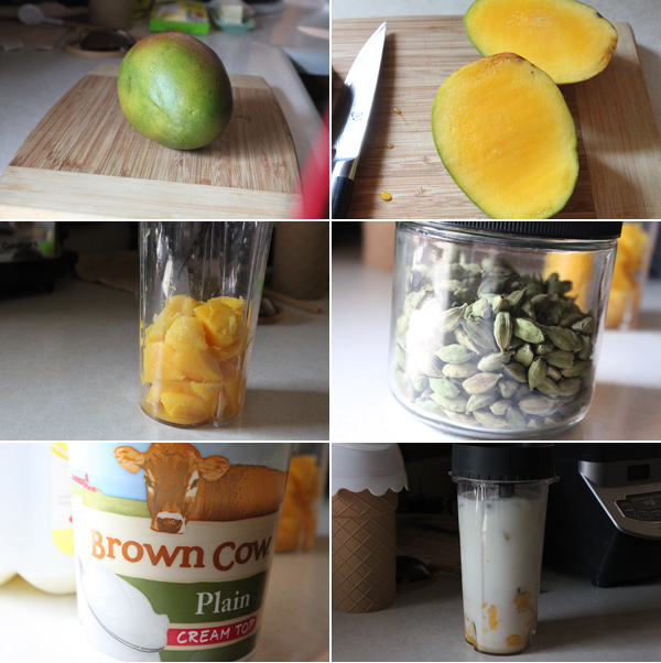 Mango Lassi Ingredients