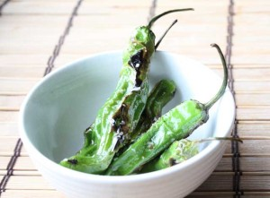 Roasted Shishito Peppers