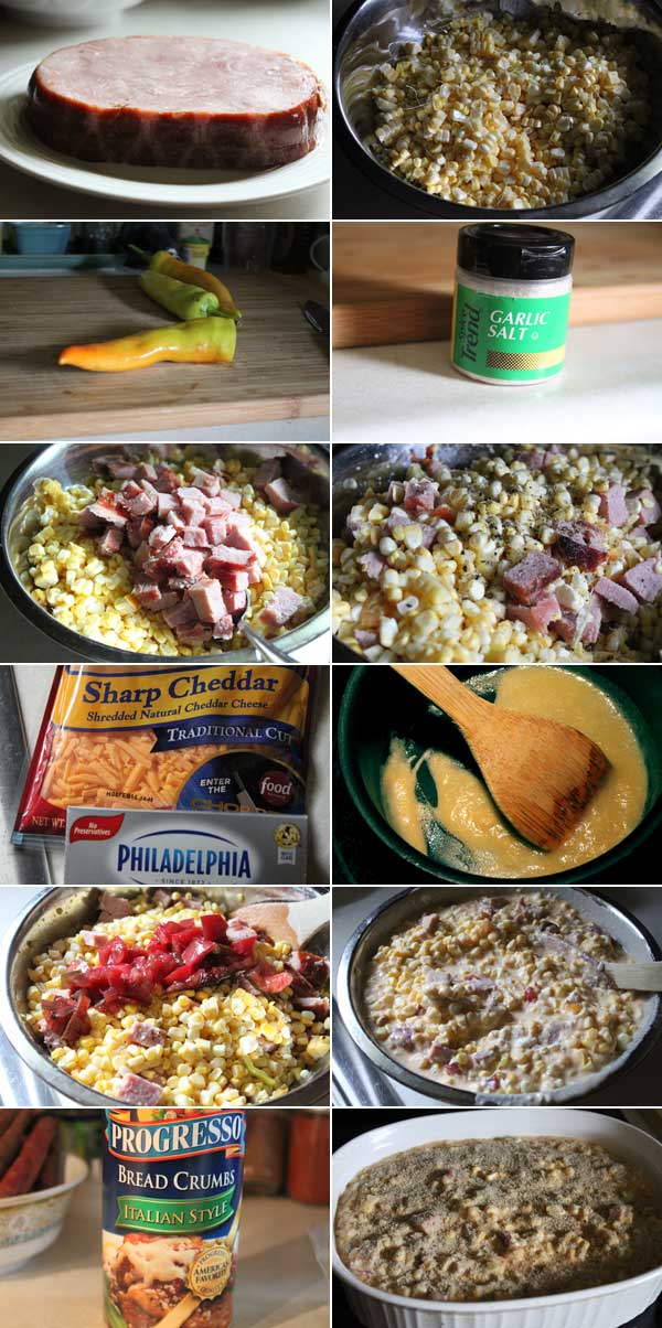 Cheesy Corn Casserole Ingredients