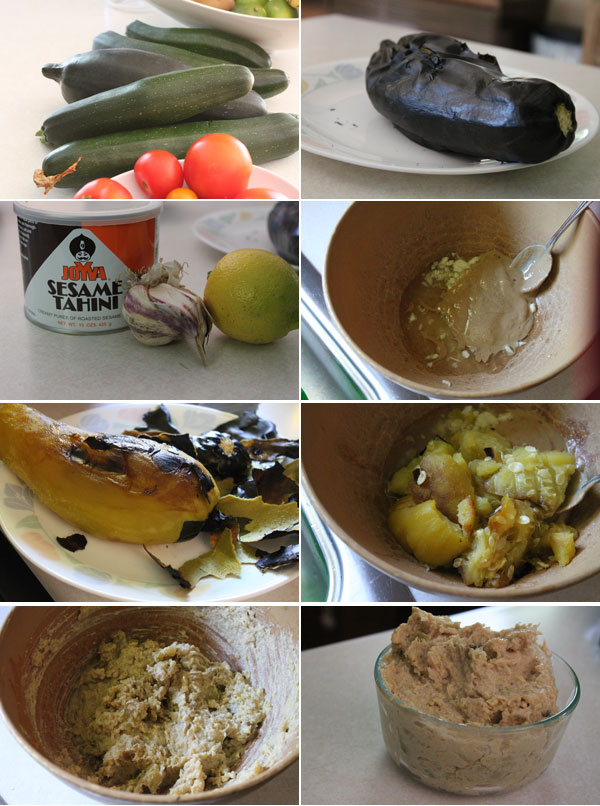 How to make Zucchini Baba Ghanoush