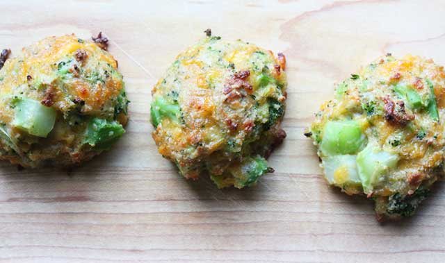 Broccoli and Cheese Bites Recipe
