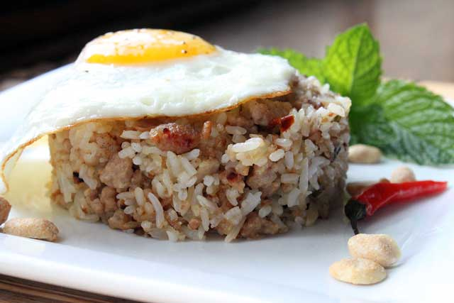 Thai Larb Fried Rice Recipe