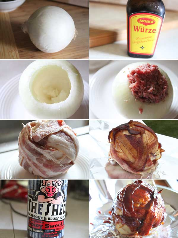 How to make an onion bomb.
