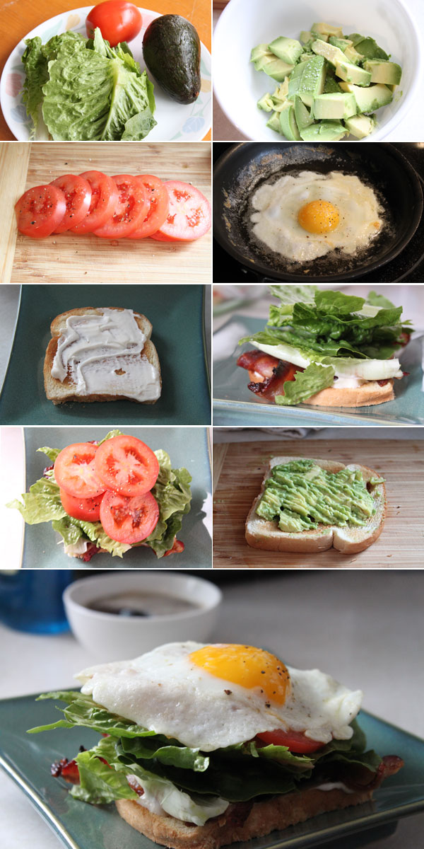 How to make a breakfast BLT