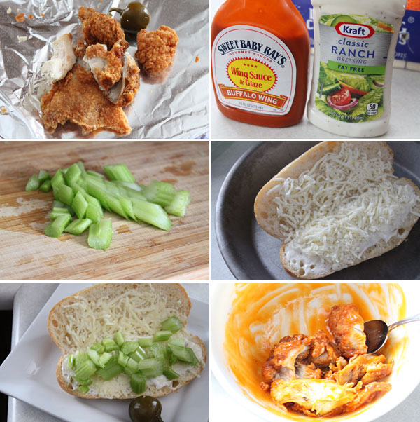 How to make a fried buffalo chicken sandwich
