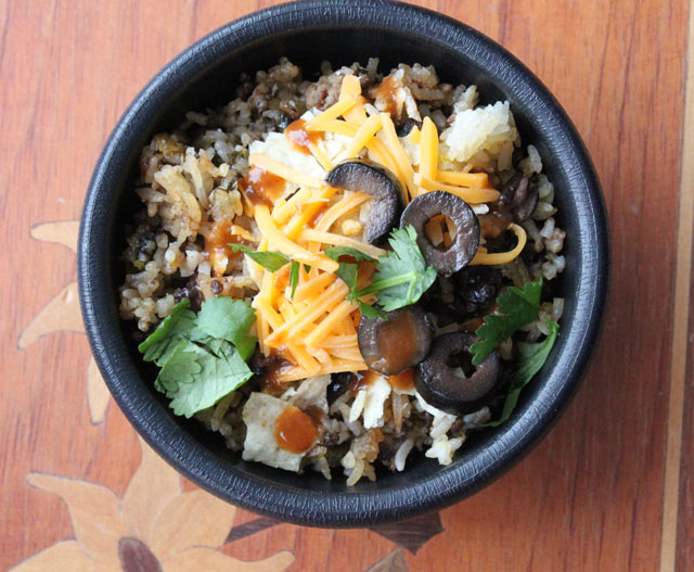 Taco Fried Rice Recipe