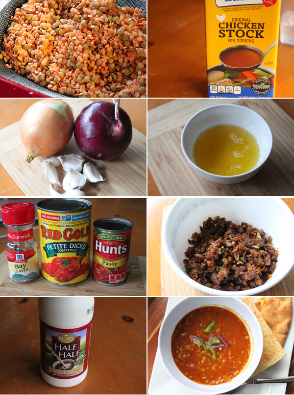 How to make Indian Buttered Lentils
