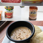 Ingredients for Queso con Carne