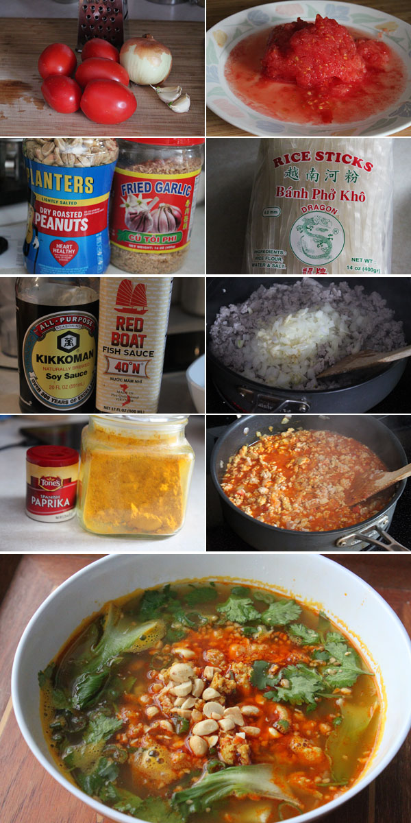 How to make Shan Noodles