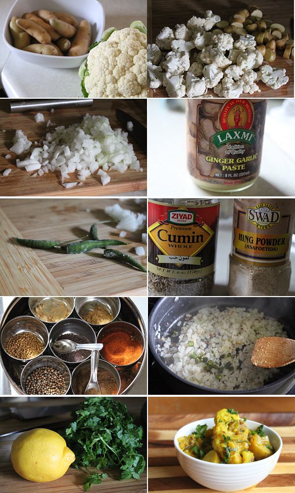Aloo Gobi Ingredients