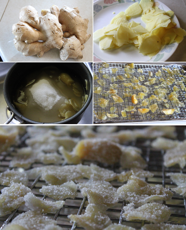 Candied Ginger Ingredients