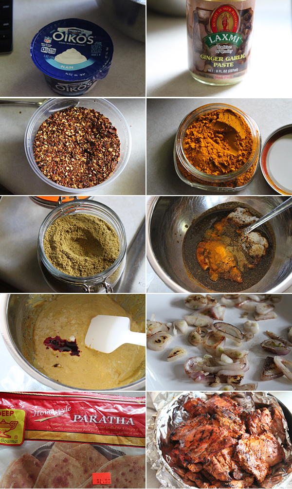 Chicken Boti Ingredients