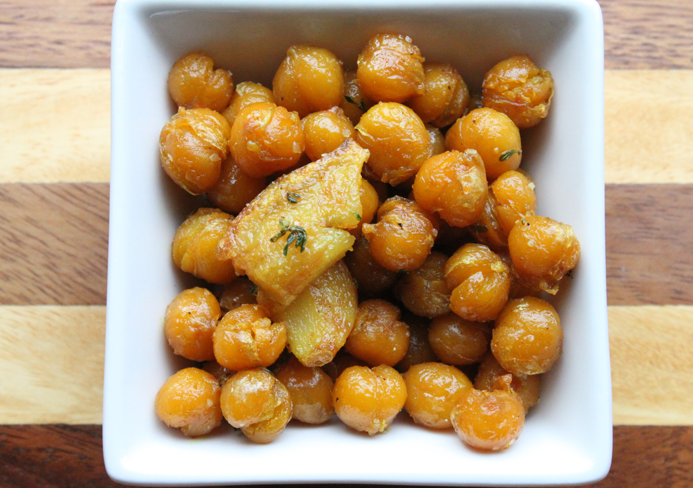 Skillet Fried Chickpeas with Garlic and Herbs – Simple Comfort Food ...