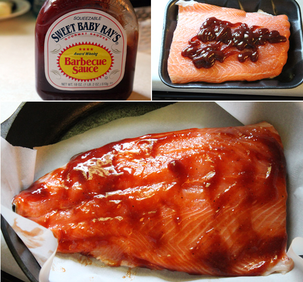 BBQ Baked Salmon Recipe