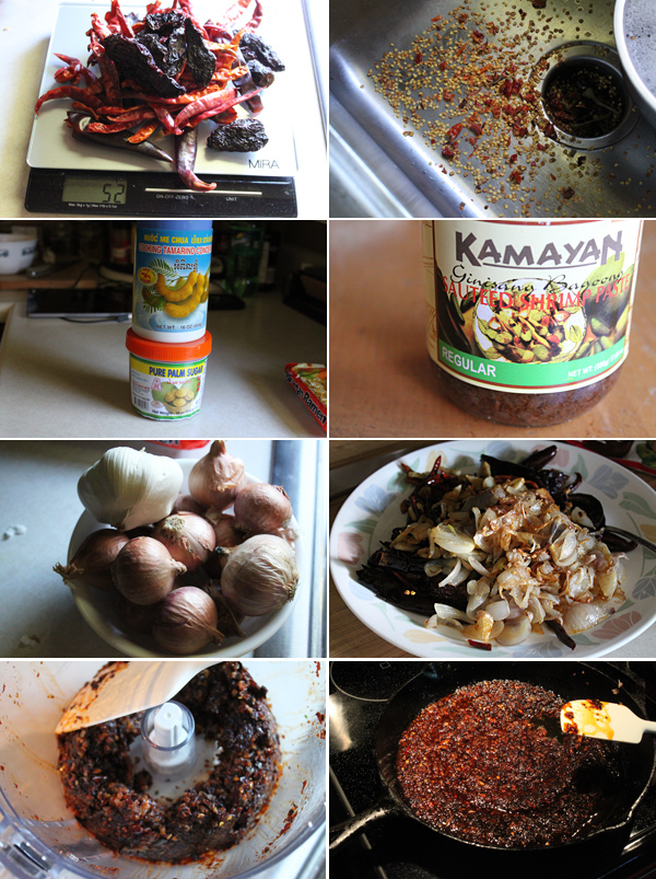 Nam Prik Pao – Thai Chili Condiment
