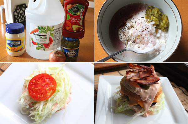 Special Burger Sauce Recipe Ingredients