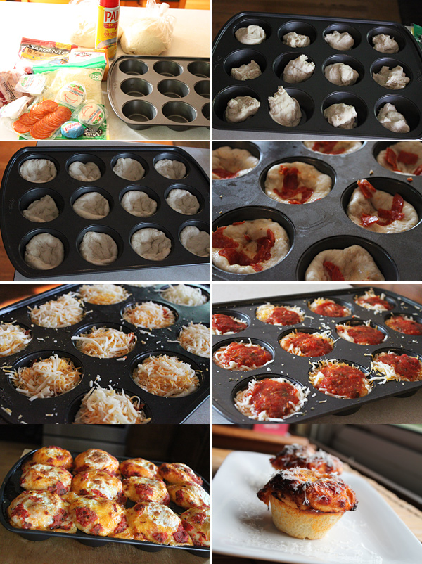 Pizza Muffin Ingredients