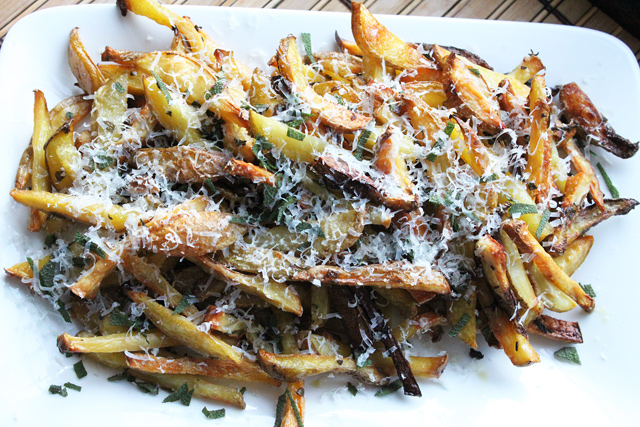Garlic and Sage Fries Recipe
