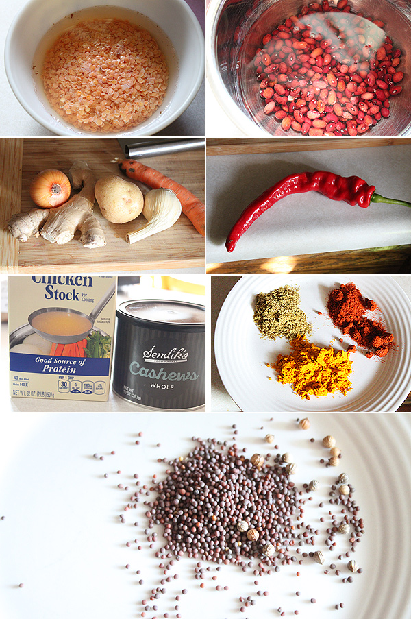 Indian Chili Ingredients