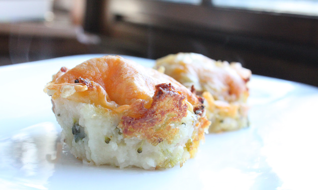 Loaded Baked Potato Muffins