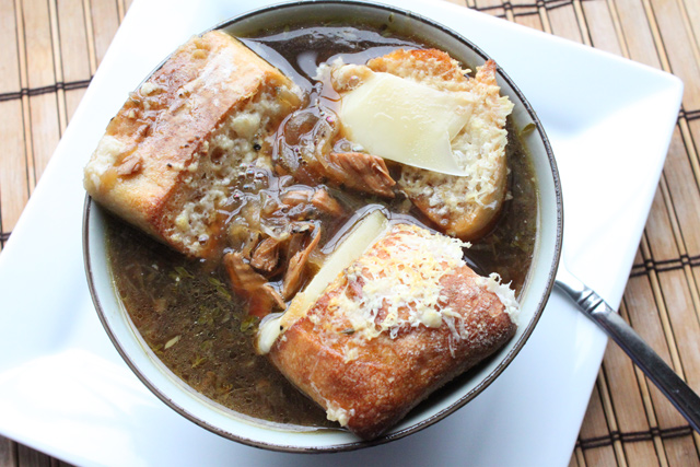 Smoked Turkey French Onion Soup Recipe
