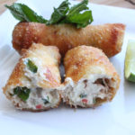 Crab Rangoon Egg Rolls Recipe