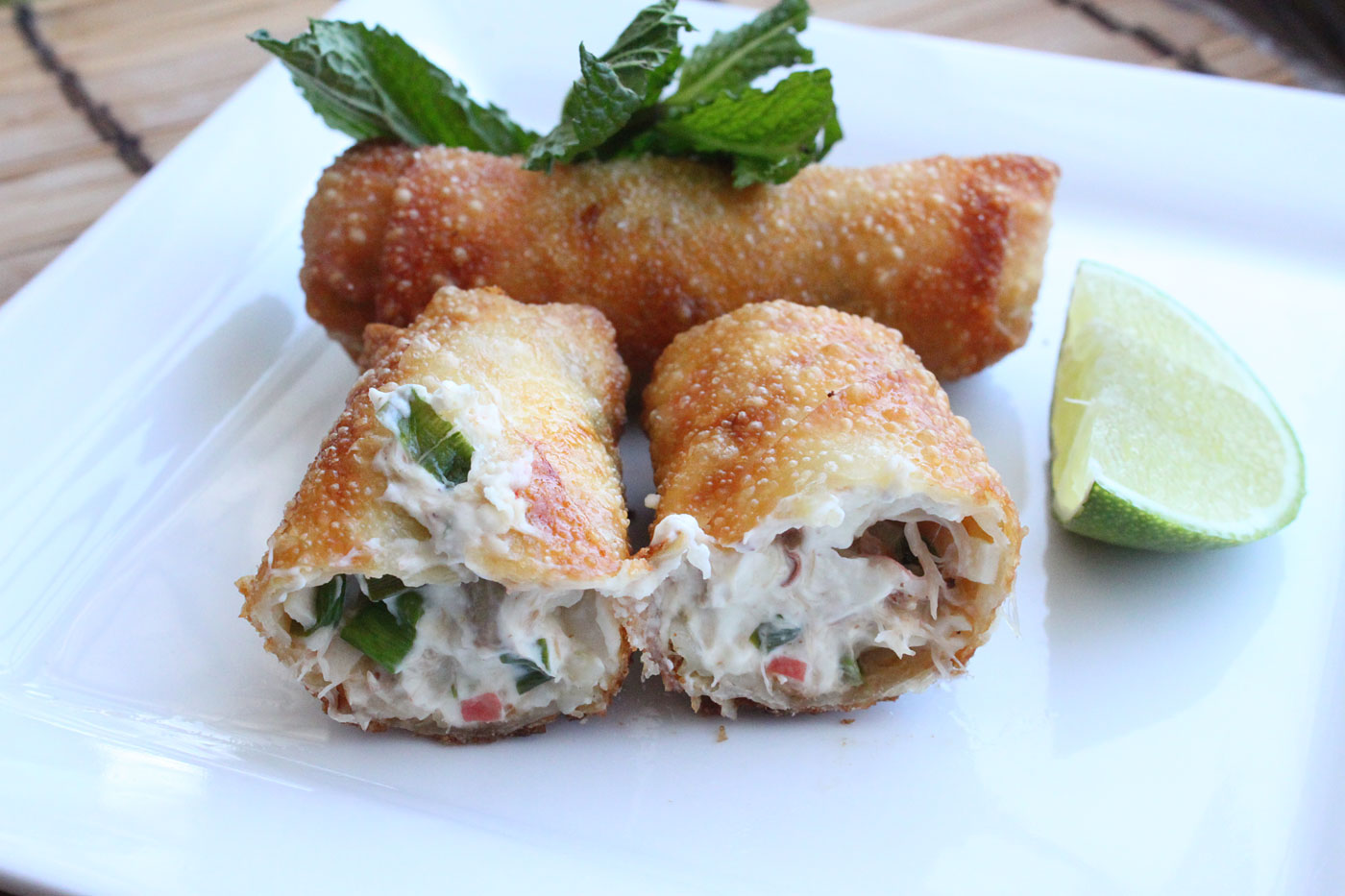Egg rolls simple comfort food recipes that are simple and delicious crab rangoon egg rolls recipe forumfinder Images