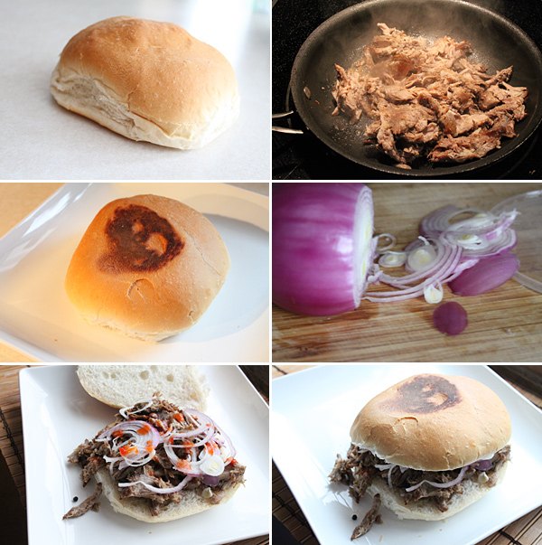 Filipino Adobo Sandwich