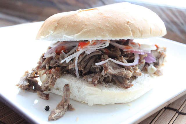 Filipino Pork Adobo Sandwich Recipe